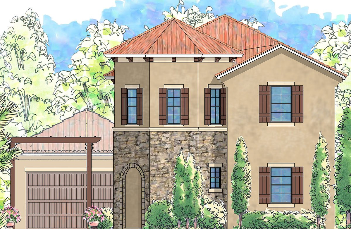 The Lucca Rendering at Nocatee in Ponte Vedra