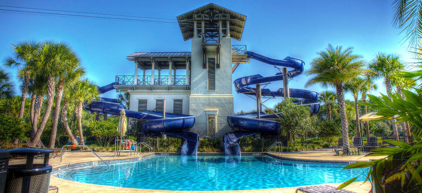 Pool Slide at Nocatee