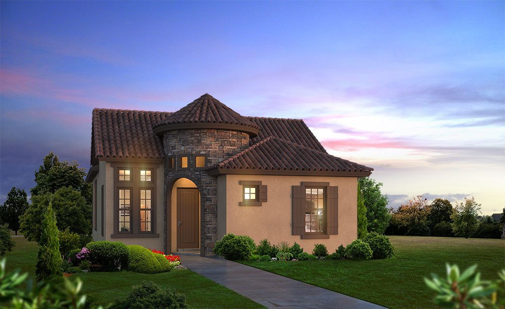 The Capri Tuscan Elevation at Nocatee in Ponte Vedra