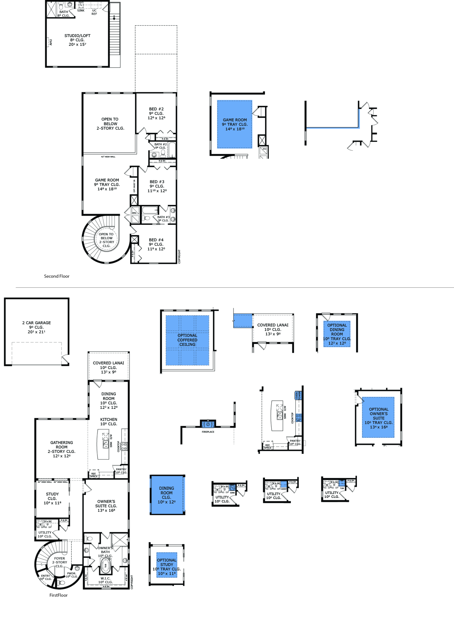 Ici homes official site - Lucca Floorplan