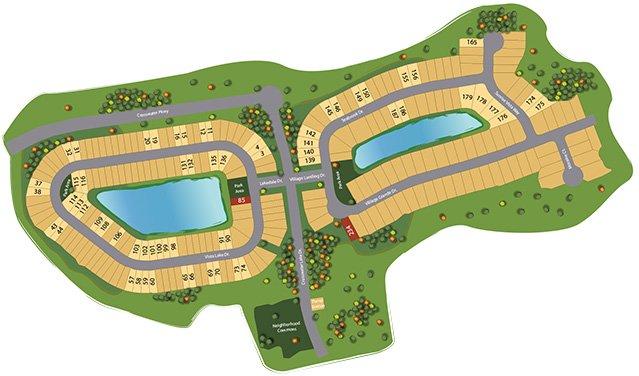 crosswater map