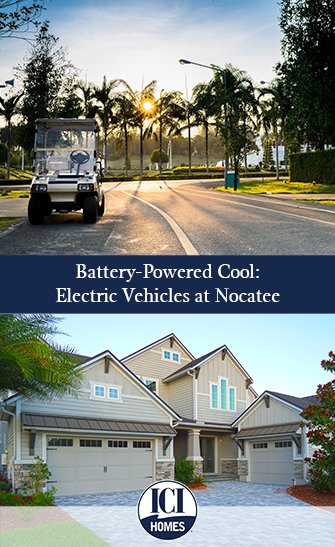 Battery-Powered Cool: Electric Vehicles at Nocatee