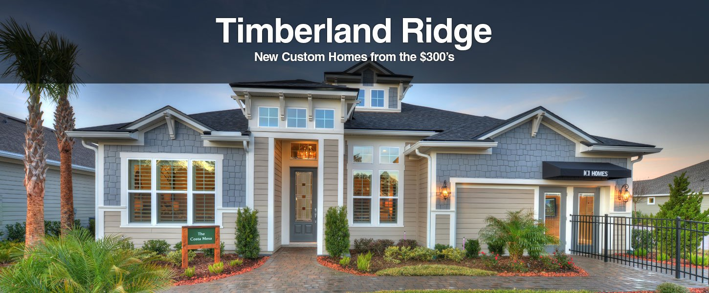 New Homes in Timberland Ridge at Nocatee