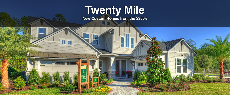 New Homes in Twenty Mile at Nocatee