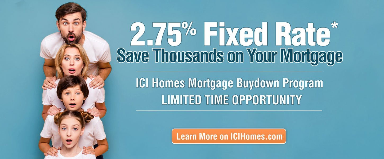 ICI Homes Buydown Program