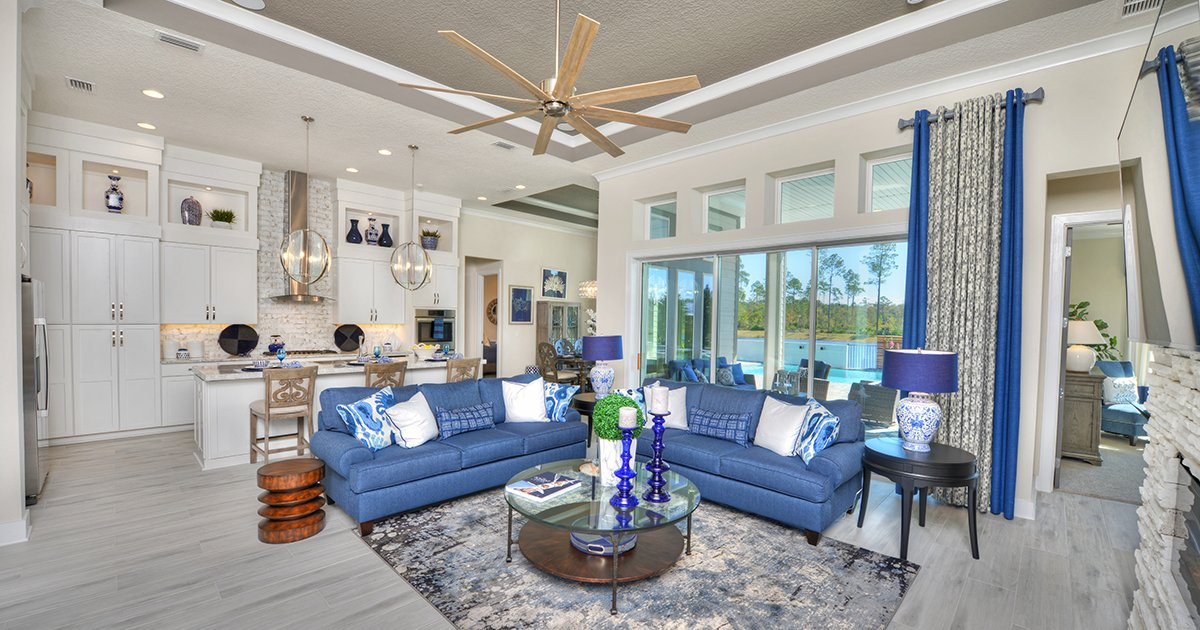 Egret VII Model Home at Nocatee