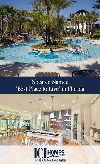Nocatee Named Best Place to Live in Florida