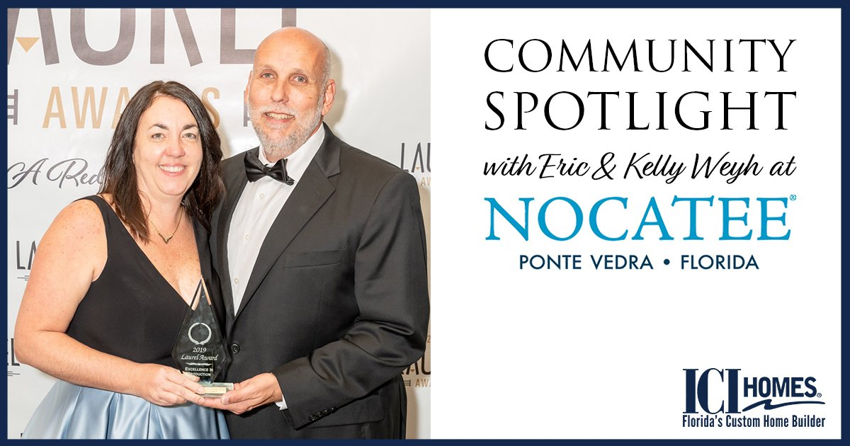 Community Spotlight with Eric and Kelly Weyh at Nocatee